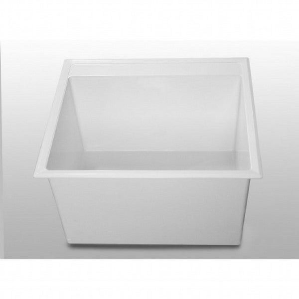 American Standard Fiat White Stone Utility Sink - Free Shipping Today ...