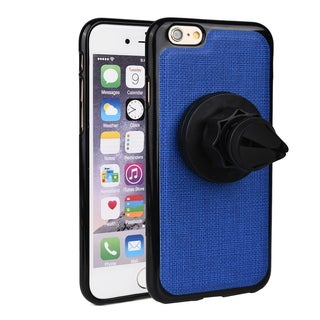 Kroo Faux Leather Case and Rotating Mount for iPhone 6/6s