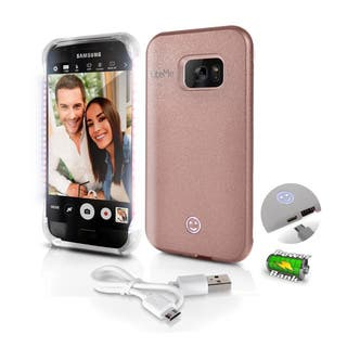 Lite-Me Selfie Lighted Samsung Galaxy S7 Smart Case With Power Bank and LED Lights|https://ak1.ostkcdn.com/images/products/12731235/P19510212.jpg?impolicy=medium