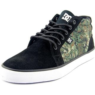 DC Shoes Men's Council Mid SE Black Suede Regular Athletic Shoes