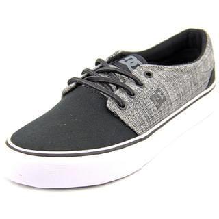 DC Shoes Men's Trase TX SE Black Basic Textile Athletic Shoes