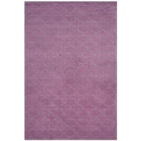 Safavieh Handmade Moroccan Dark Pink Wool Rug (8'9 x 12')
