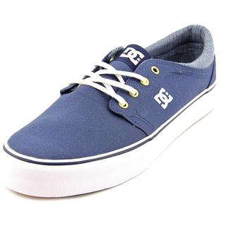 DC Shoes Men's Trase TX SE Blue Cotton Canvas Athletic Shoes
