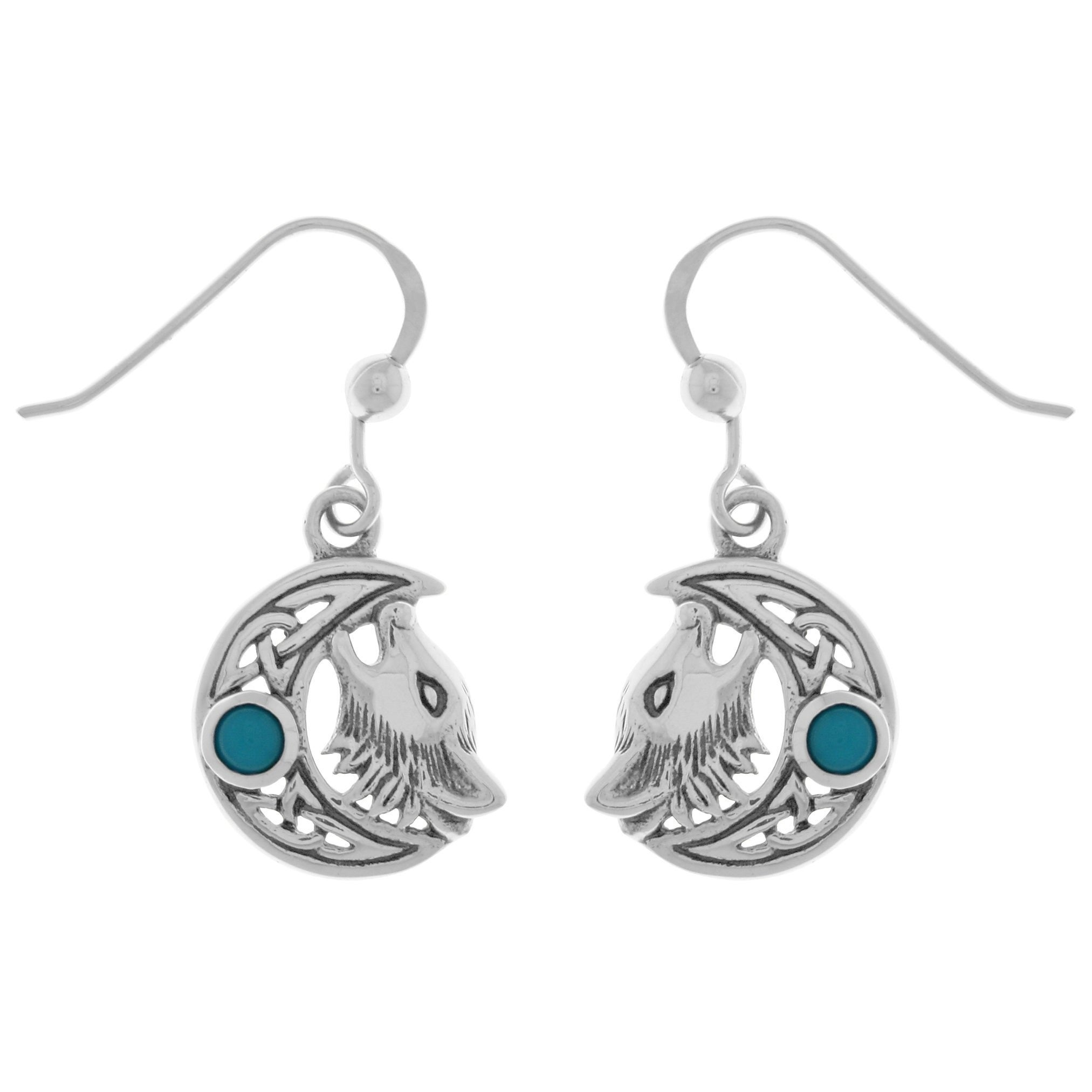 Carolina Glamour Collection Sterling Silver Created Turqu...
