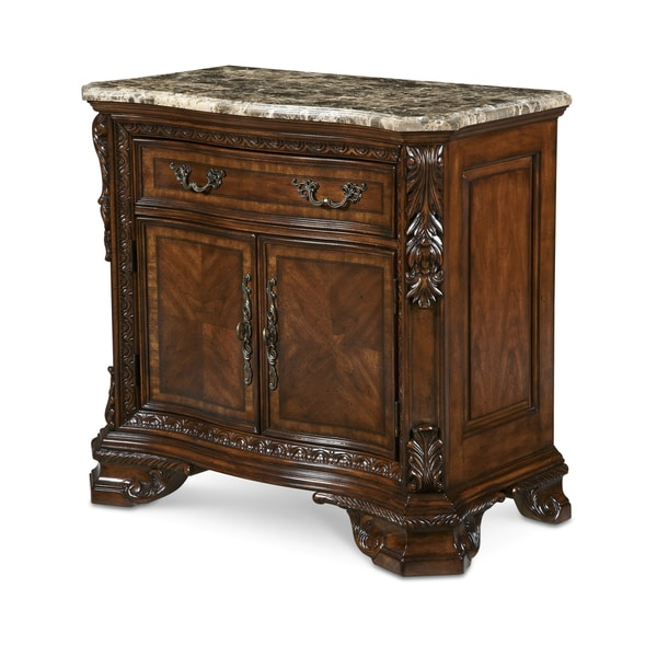 World Of Furniture: Shop A.R.T. Furniture Old World Marble Top Nightstand