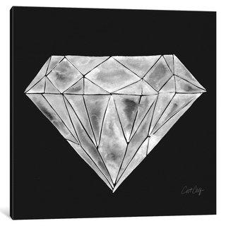 iCanvas Diamond Artprint by Cat Coquillette Canvas Print