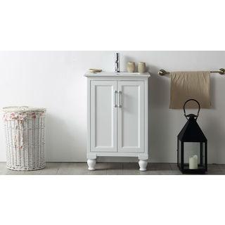 Legion Furniture 24-inch White Single Bathroom Vanity