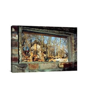 Louise A. Marler 'Window of Memories' Gallery-wrapped Canvas Wall Art