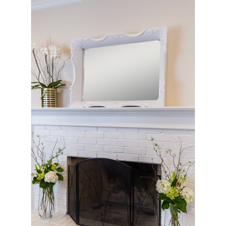 Danielle Antique White Wall Mirror