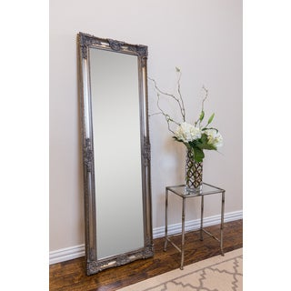 Mayfair Belle Wall Mirror Antique Silver