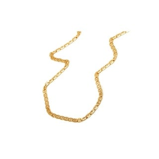 Gold-filled 18-inch Gucci-link Chain Necklace
