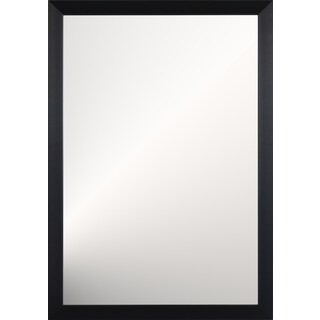 Jackson Large Wall Mirror - Black - 38.5 inches x 26.5 inches x 1 inch