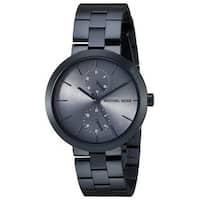 Michael Kors Women's MK6410 'Garner' Chronograph Blue Stainless Steel Watch