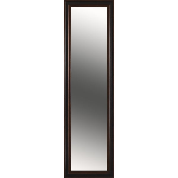 Lauren Full Length Mirror - Brown/Black - 57 inches x 15.5 inches x 1 inch
