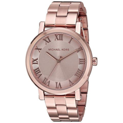 Michael Kors Women's MK3561 'Norie' Rose-Tone Stainless Steel Watch