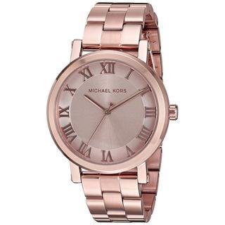Michael Kors Women's MK3561 'Norie' Rose-Tone Stainless Steel Watch