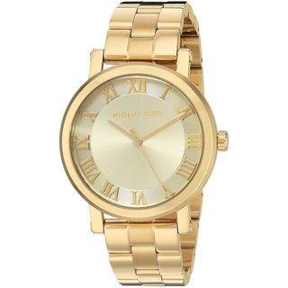 Michael Kors Women's MK3560 'Norie' Gold-Tone Stainless Steel Watch