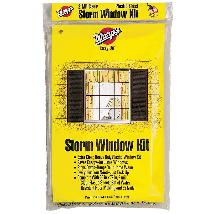 Warp Brothers EZ-36 Storm Window Kit (Storm Window Kit), ...