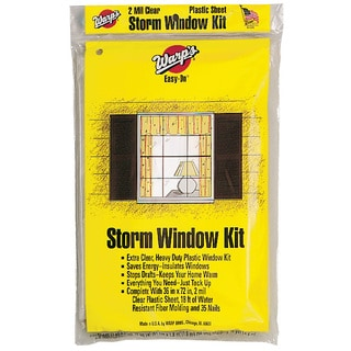 Warps EZ-36 Storm Window Kit