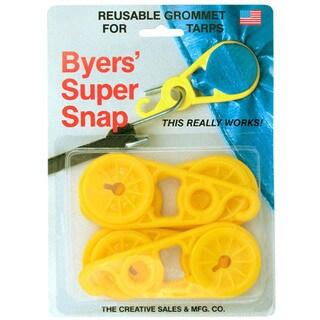 Creative Homeowner 77 Byers' Super Snap Reusable Grommet 4-ct