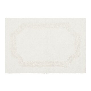 Laura Ashley Reversible Cotton 21 x 34 in. Bath Mat