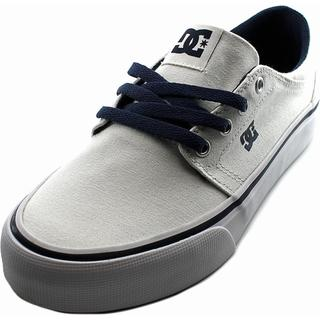 DC Shoes Men's 'Trase TX' White Canvas Athletic Shoes