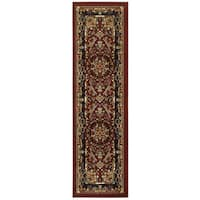 "LR Home Grace Dramatic Oriental Indoor Area Runner Rug ( 2'1"" x 7'5"" ) - 2'1"" x 7'"