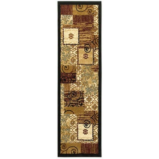 LNR Home Grace Beige Rectangle Plush Indoor Runner Rug (2'1 x 7'5)