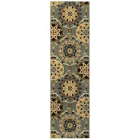 "LR Home Grace Suzani Indoor Area Runner Rug ( 2'1"" x 7'5"" ) - 2'1"" x 7'"