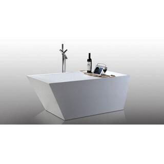 Helixbath Piraeus Freestanding Modern Acrylic Bathtub