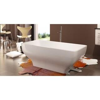 HelixBath Taposiris Freestanding Curved Bathtub
