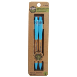 Onyx And Blue Corporation 1404 .5 MM Bamboo Pencils 2 Count