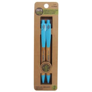 Onyx And Blue Corporation 1404 .5 MM Bamboo Pencils 2 Count https://ak1.ostkcdn.com/images/products/12732222/P19511291.jpg?impolicy=medium