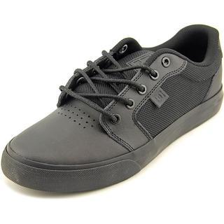 DC Shoes Men's Anvil Le Black Leather Athletic Shoes