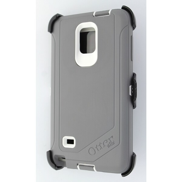 new concept 5970b 14c7a Cricket OtterBox Defender Grey/White Case for Samsung Galaxy Note 4