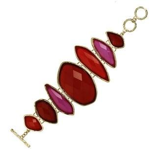 J&H Designs Lucite Toggle Bracelet