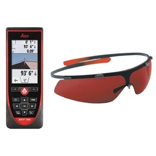 Leica DISTO S910 Laser Distance Meter With GLB30 Laser Enhancement Glasses