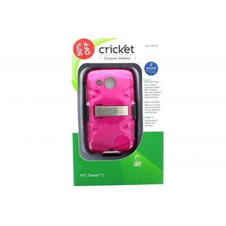 Cricket Designer Shellster Pink Case for HTC Desire C