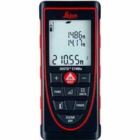 Leica DISTO E7400x Handheld Distance Meter 788472 - 788472 - Black/red