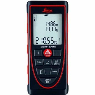 Leica DISTO E7400x Handheld Distance Meter 788472 - 788472 - Black/red
