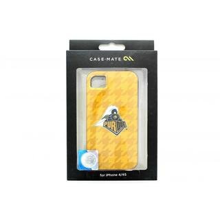 Case Mate Purdue Boilermakers Gold Train Case for Apple iPhone 4/4S