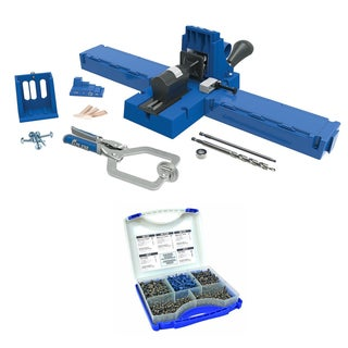 Kreg Jig K5 Master System with Pocket Hole Screw Kit (5-Sizes)