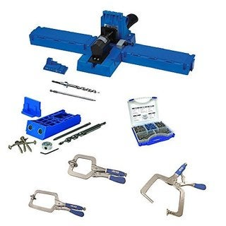 Kreg K5 Pocket-Hole Jig with Large Face Clamp Accessories (and Options)
