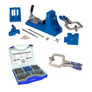 Kreg Jig Master System + Pocket-Hole Screw Kit in 5 Sizes and Options
