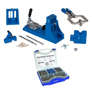 Kreg K4MS Jig Master System with Pocket Hole Screw Joinery Kit