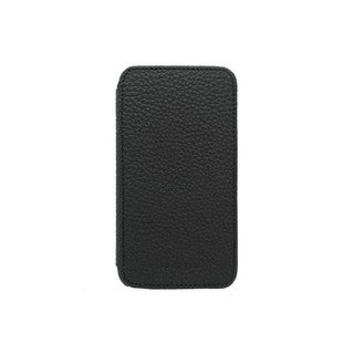 Adopted Black Leather Samsung Galaxy S5 Folio Case