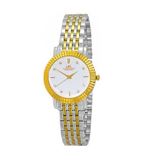 Women's Swiss Stainless Steel & Crystal Watch Design by Adee Kaye|https://ak1.ostkcdn.com/images/products/12732723/P19511645.jpg?impolicy=medium