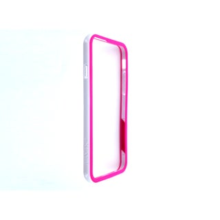 Trident Tavik Pink/White Bumper Case Cover for Apple iPhone 6