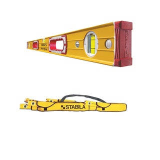 Stabila 37432 Heavy Duty 32-Inch Type 196 Construction Level w/ 5-Pocket Case