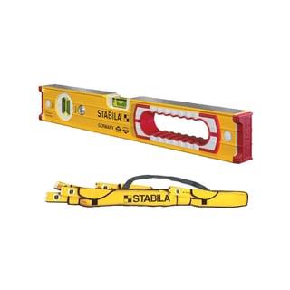 "Stabila 16"" Heavy Duty Professional Type 196 Builders Level with 5-Pocket Case"